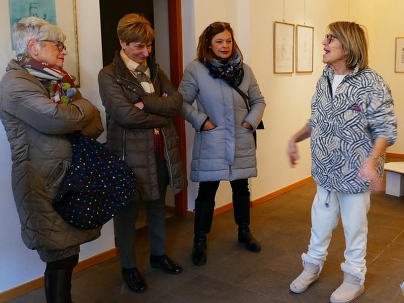 26 gennaio 2019 - Mostra quadri di Sieglinde Tatz Borgogno