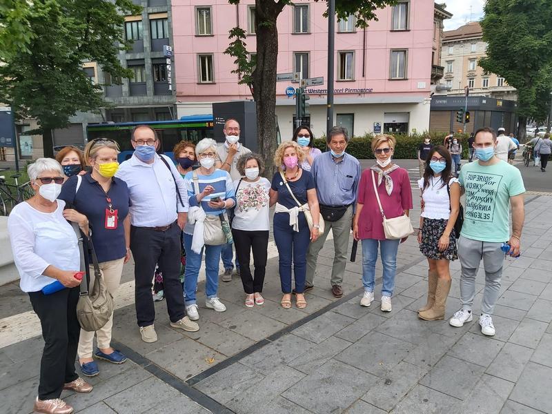 5 giugno 2021 - Ass. Bambini Dharma a Zanica e Visita Bergamo